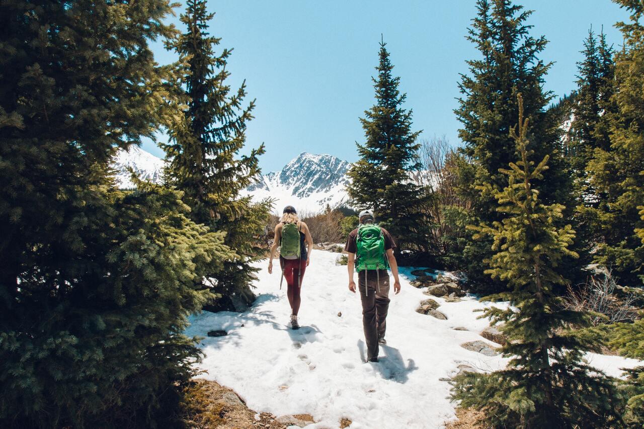 andare in montagna con i bambini